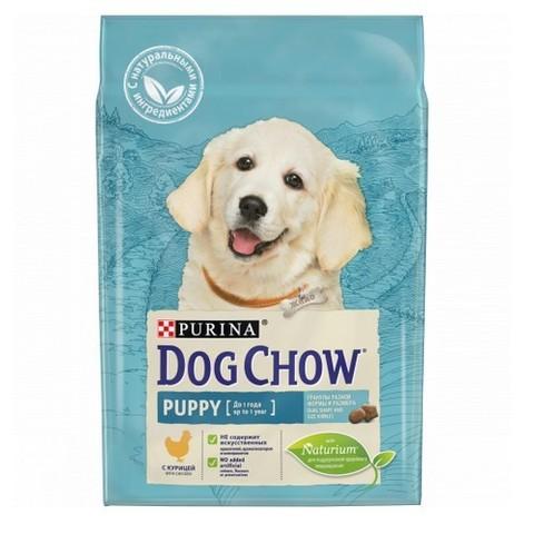 PURINA DOG CHOW Сухой корм для щенков с курицей Puppy Chicken