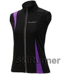 Детский лыжный жилет Nordski Active Black-Violet