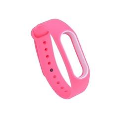 Силиконовый ремешок для Xiaomi Mi Band 4 (Розовый)