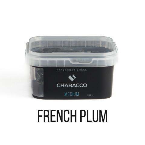 Кальянная смесь Chabacco Medium - French Plum (Чернослив) 200 г