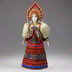 Сувенирная кукла сказочная царевна