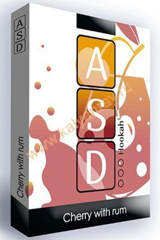 Безникотиновая смесь ASD Hookah - Вишня с ромом