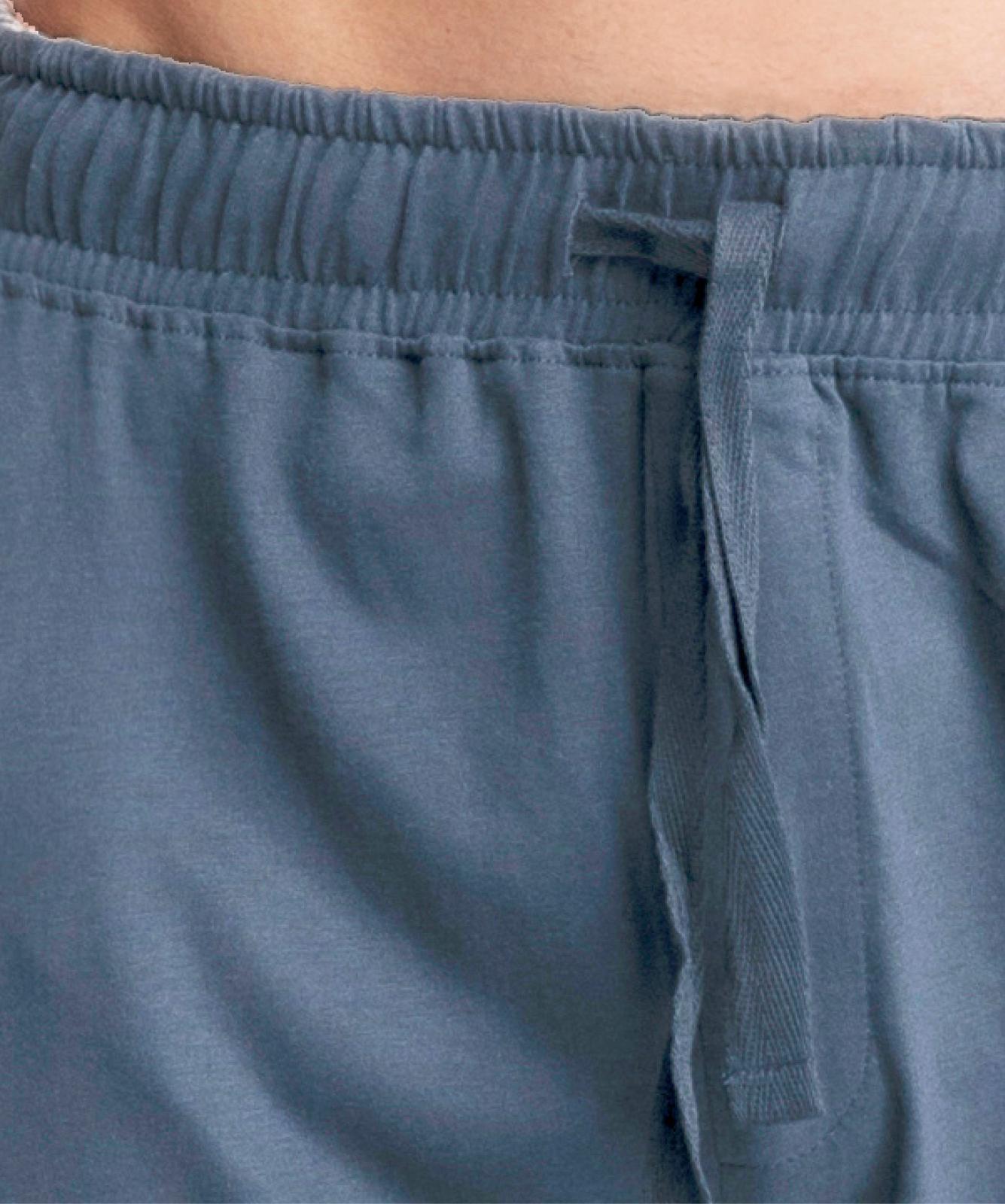 Мужские штаны пижамные Atlantic, 1 шт. в уп., хлопок, деним, NMB-040