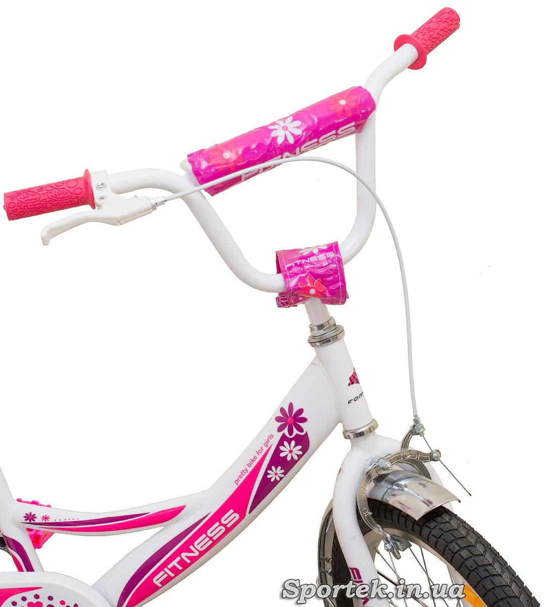 Руль велосипеда для девочек Formula Fitness 2015