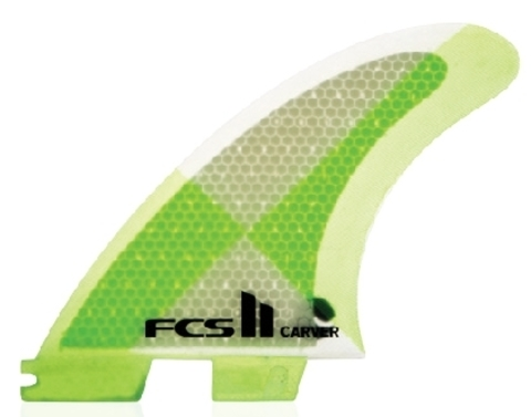 Плавники FCS II Carver PC  Large Tri fins, компл. из трех, L