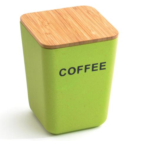 Банка с крышкой для хранения кофе