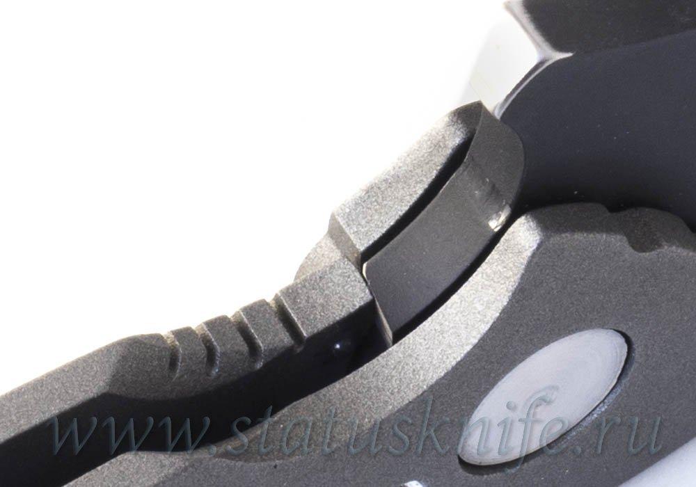 Нож SOLO TANTO Recurve Flipper M390 DireWare Custom - фотография