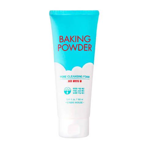 Пенка для умывания тройного действия Etude House Baking Powder Pore Cleansing Foam, 300 мл