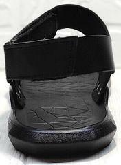Летние сандалии босоножки без задника Zlett 7083 Black.