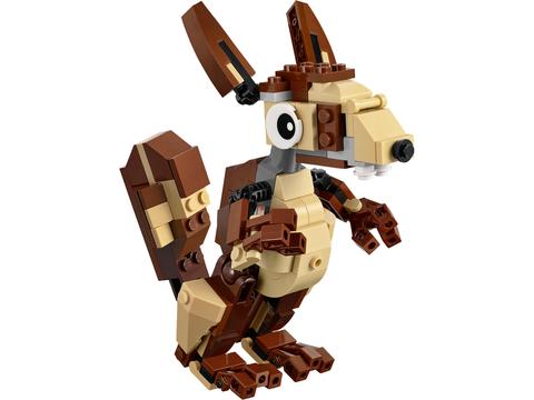 LEGO Creator: Озорные животные 31019 — Forest Animals — Лего Креатор Создатель