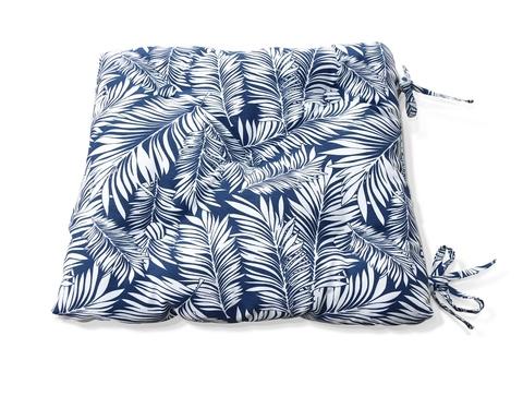 Подушка на стул Пальма серый уличная коллекция