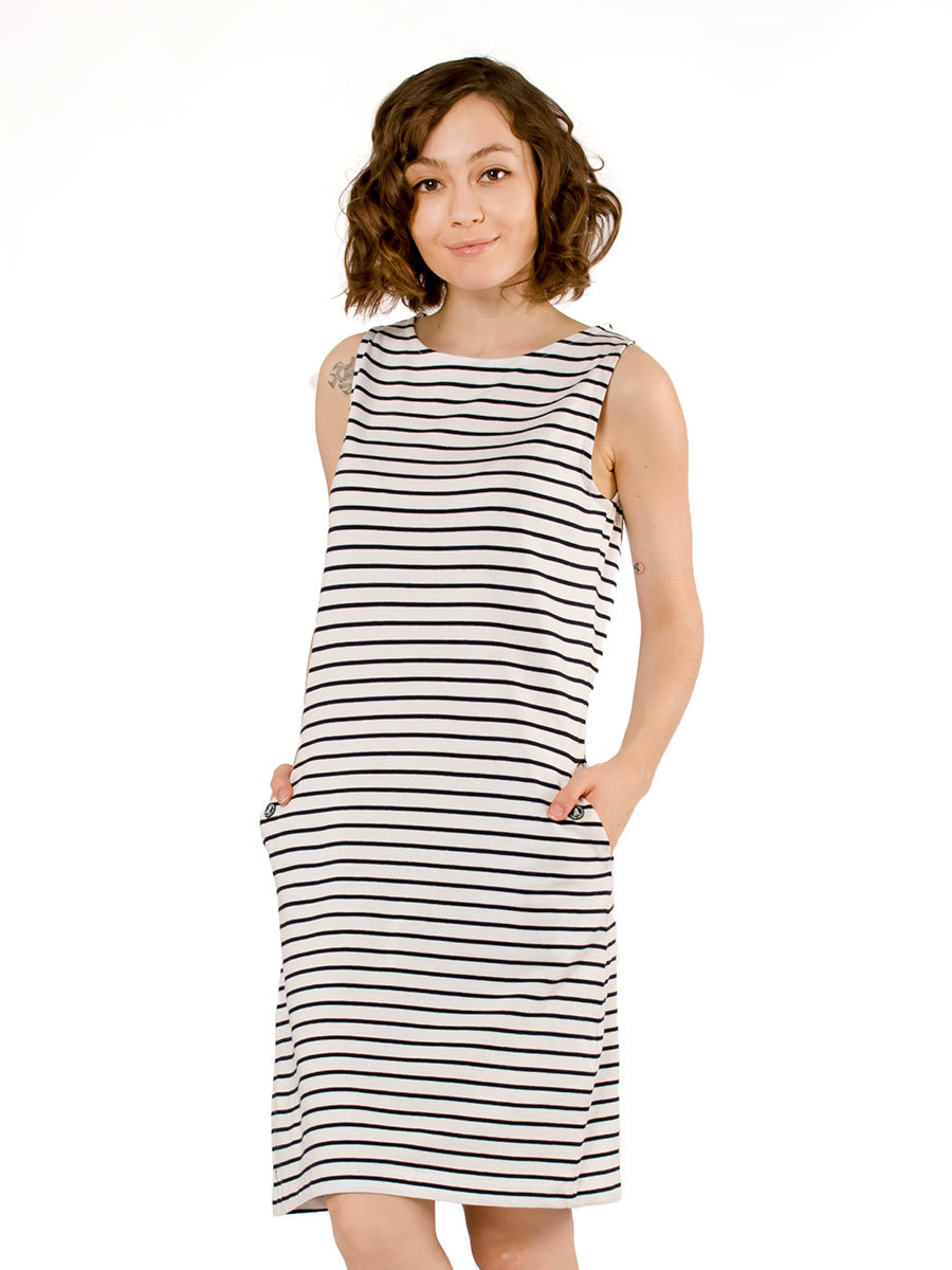 Barbour платье Dalmore White