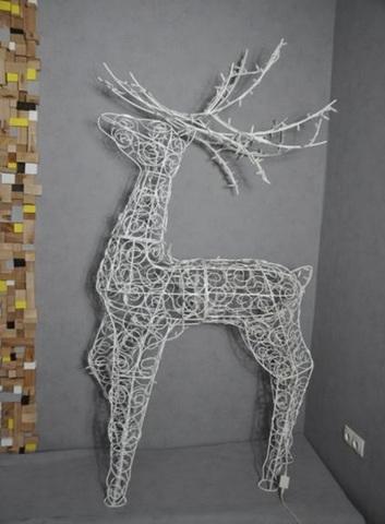 Конструкция светодиодная олень led