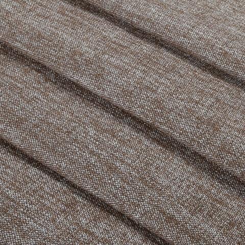 Блэкаут лен для штор коричнево-серый оптом. BLL-8-04