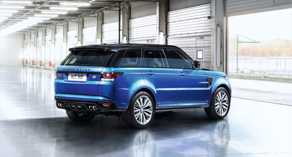 Обвес SVR для Range Rover Sport 2 2014+ Копия