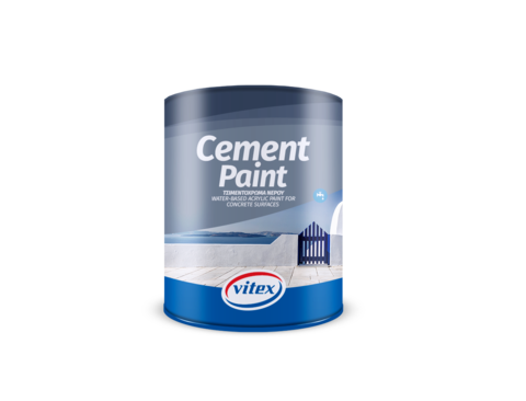 Фасадная акриловая краска для цементных поверхностей