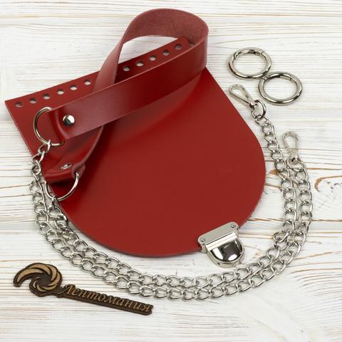 """Комплект для сумочки Орео """"Красный"""" N1"""
