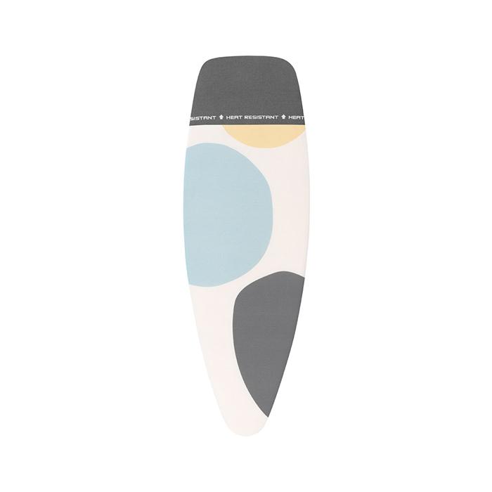 Чехол PerfectFit 135х45 см (D), 2 мм поролона, термоустойчивая зона для утюга, Цветные пузыри, арт. 133121 - фото 1