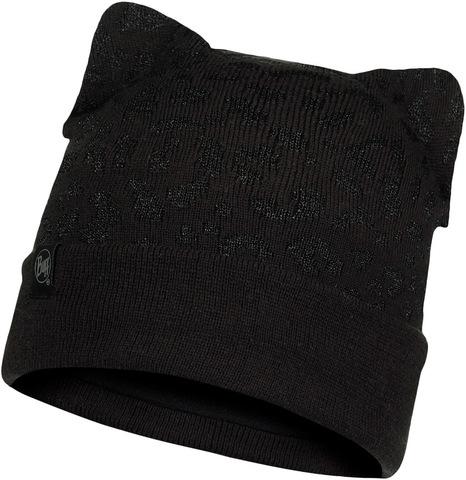 Шапка вязаная с флисом детская Buff Hat Knitted Polar New Alisa Black фото 1