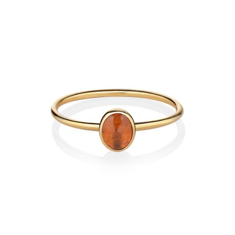 Кольцо с турмалином – 16 размер