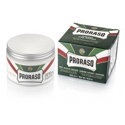 Крем для бритья (Прешейв) Proraso зеленый 300мл .