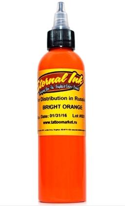 """Краска Eternal """"Bright Orange""""тату краска"""