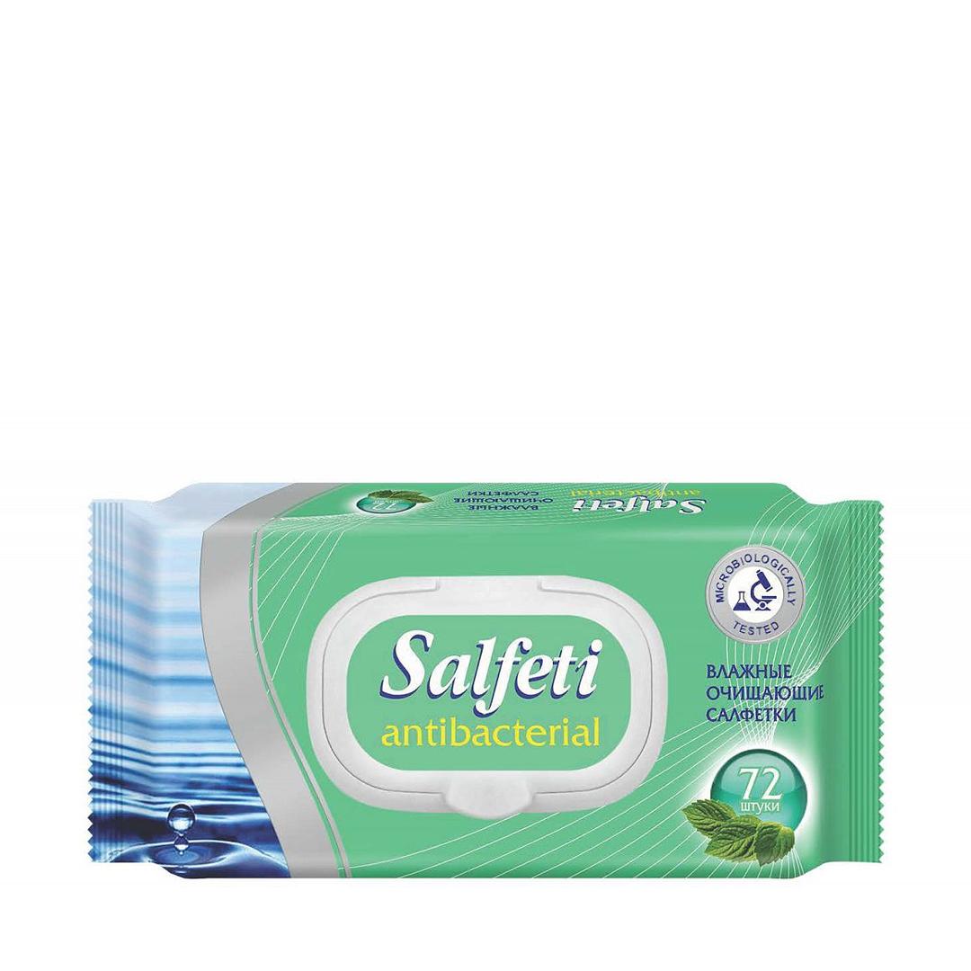 Salfeti Салфетки влажные антибактериальные 72шт