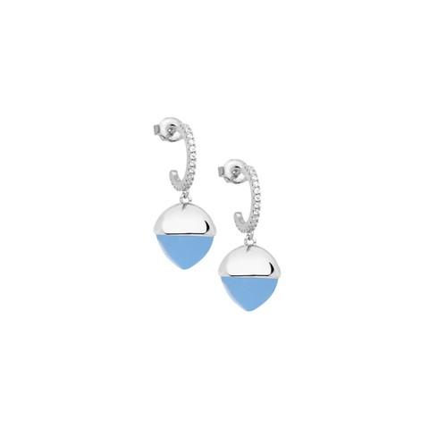 Серьги Caleida Blue XOR526CA BL/S