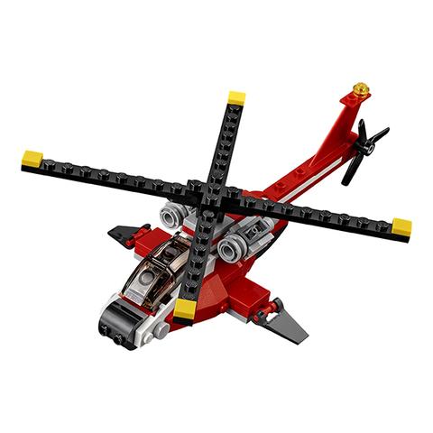 LEGO Creator: Красный вертолёт 31057 — Air Blazer — Лего Креатор Создатель