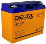Аккумулятор DELTA HR 12-18 ( 12V 18Ah / 12В 18Ач ) - фотография