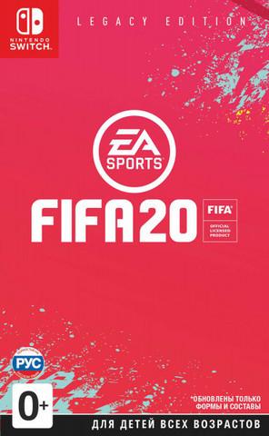 Fifa 20 Legacy Edition (Nintendo Switch, русская версия)
