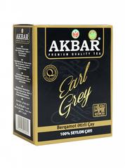 Çay \ Чай \ Tea Akbar Earl Grey qara çay 250 q