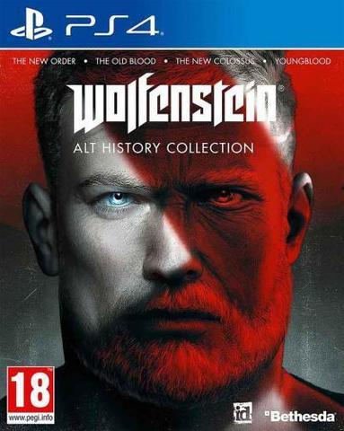 Wolfenstein: Art History Collection (PS4, английская версия)