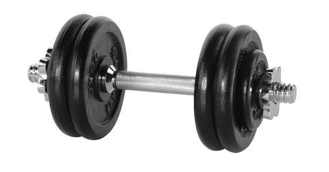 Гантель разборная крашеная 4528GP-20 1 шт 13 кг