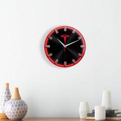 Настенные часы с рисками Tesla 5 06