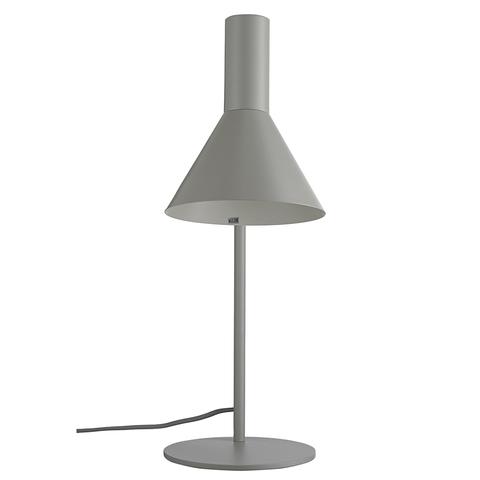 Лампа настольная Lyss, светло-серая матовая