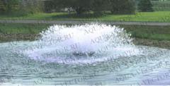 Плавающий ФОНТАН-АЭРАТОР BOYU PY-10000 (20000л/ч) до 100 кубов.