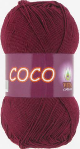 Пряжа Coco Vita cotton 4332 Винный, фото