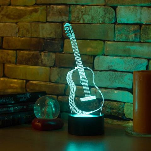 3D ночник Гитара