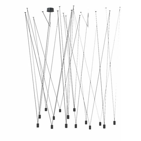 Подвесной светильник Match by Vibia (15 плафонов)