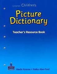 L Children's Picture Dict TRB