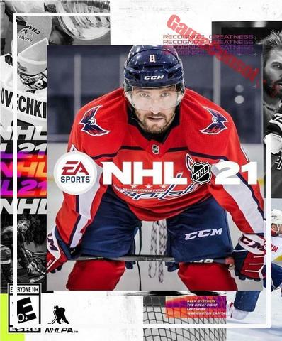 Плакат игровой NHL 21 (А1)