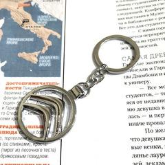 Брелок Ситроен (Citroen) для ключей автомобиля с логотипом