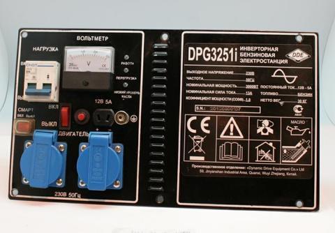 Панель контрольная DDE DPG3251i (3251-3900-0084)