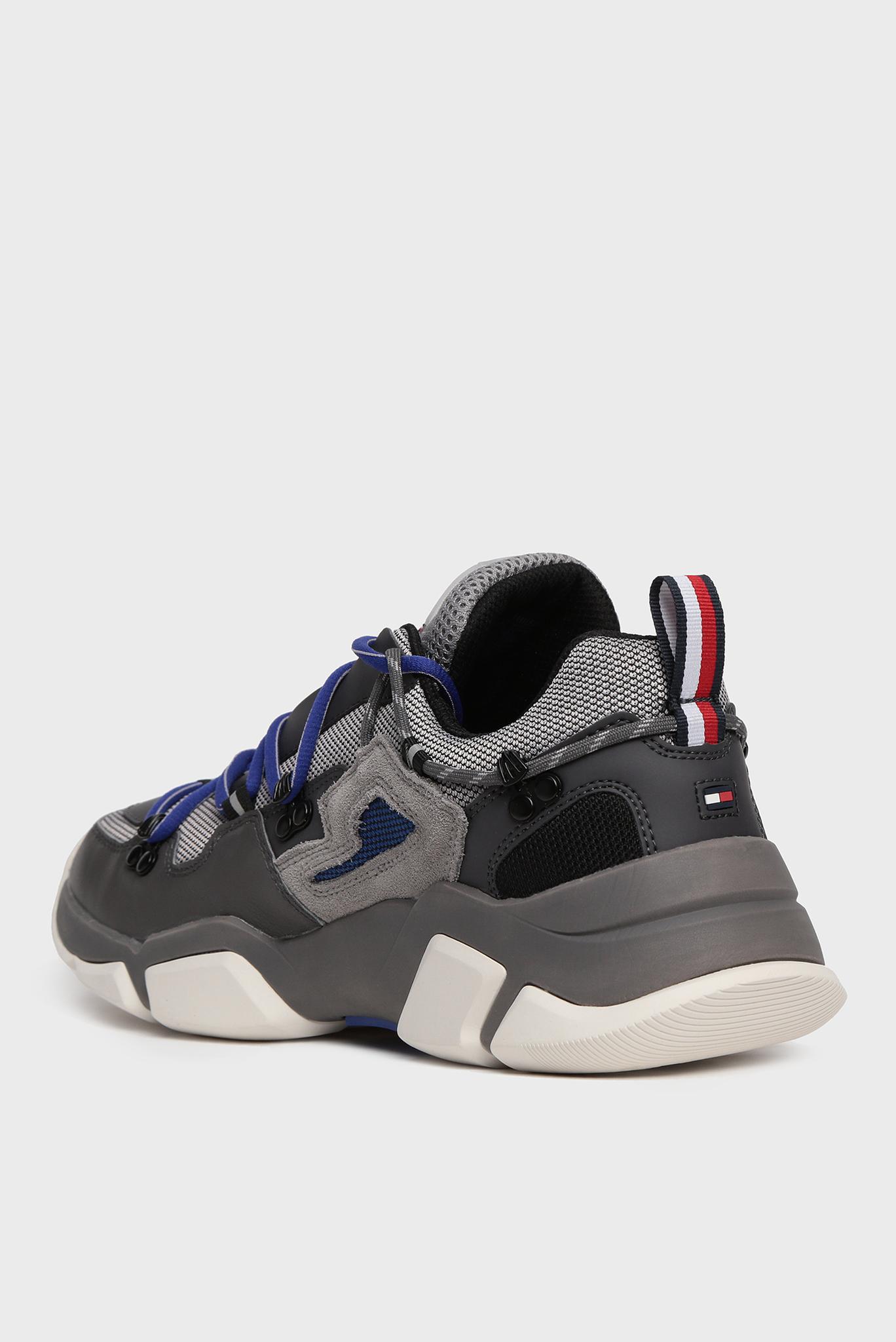 Мужские темно-серые кроссовки CITY VOYAGER CHUNKY Tommy Hilfiger