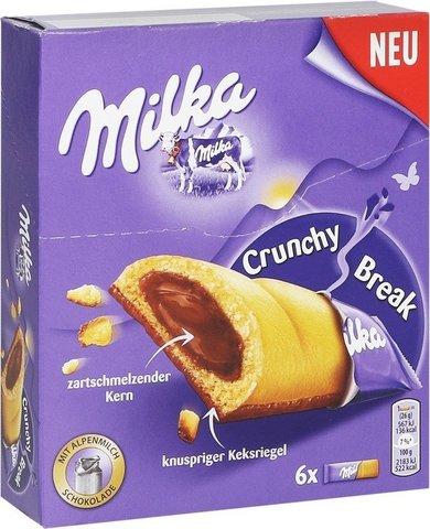 Бисквит Milka Crunchy Break 156 гр