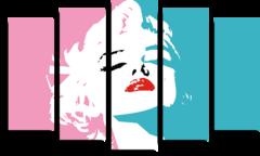 "Модульная картина ""Marilyn Monroe"""