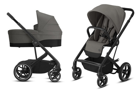 Детская коляска Cybex Balios S Lux BLK 2 в 1 Soho Grey