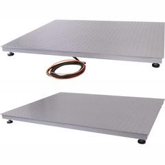 Весы платформенные СКЕЙЛ СКП 1000-1212, 1000кг, 500гр, 1200х1200, RS-232, стойка (опция), с поверкой, выносной дисплей