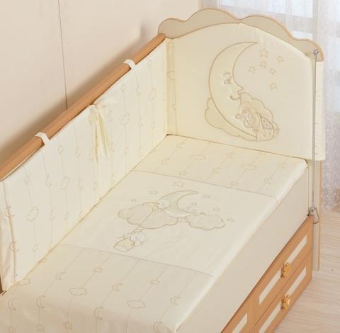 Детское постельное белье Облачка 3 предмета